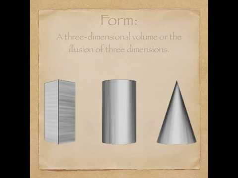 Elements of Art: Form - YouTube