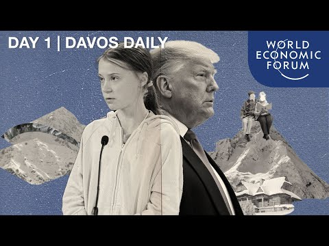 DAVOS DAILY | DAY 1 | Greta Thunberg, Donald J. Trump and the Start of Davos