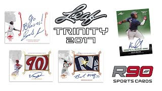2017 Leaf Trinity Baseball - Product Review