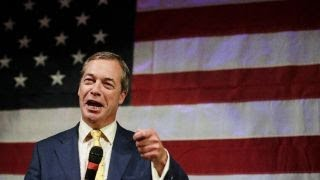 Nigel Farage: Evolution is rolling in Europe; Brexit was first brick out of the wall