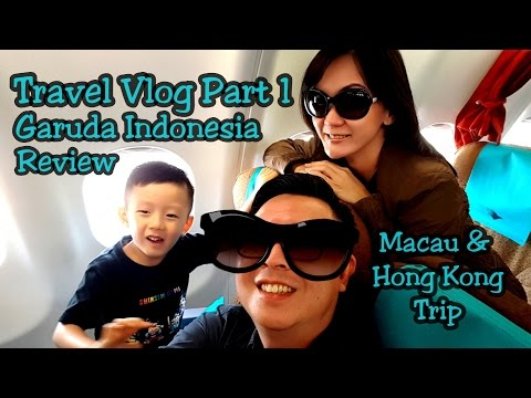 Jalan Jalan ke HongKong & Macau Part 1:  Garuda Indonesia Airlines Review & Cotai Jet (Travel Vlog)