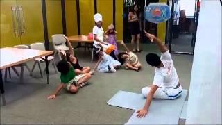 KIDS YOGA IN  CONCORDIA INTERNATIONAL SCHOOL  HANO