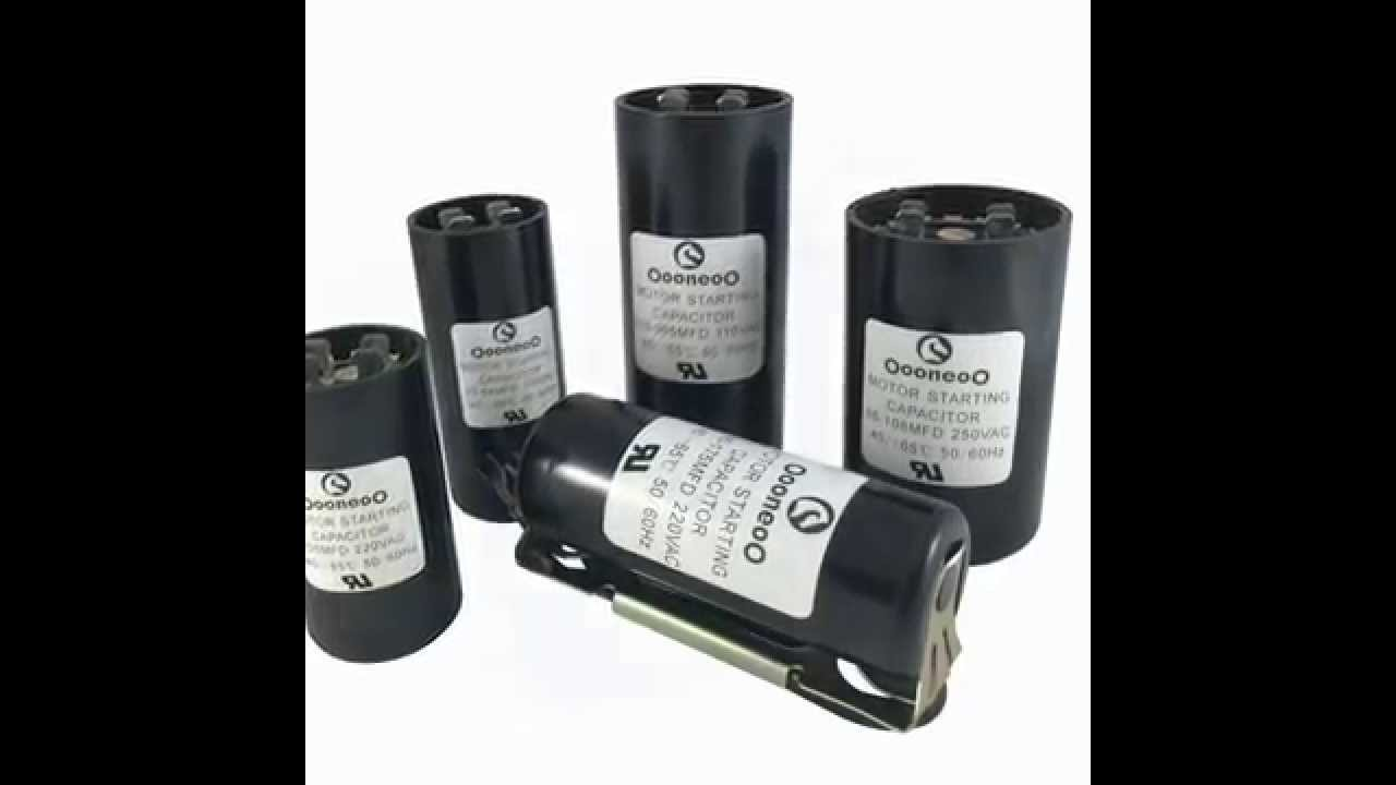 hight resolution of motor capacitor wiring motor capacitor size chart motor capacitor calculator youtube