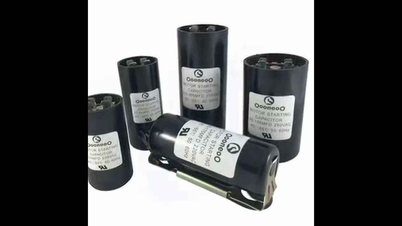 medium resolution of motor capacitor wiring motor capacitor size chart motor capacitor calculator youtube