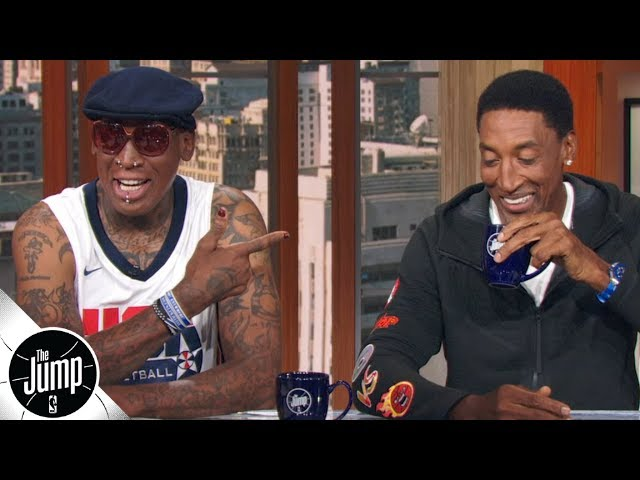 Our Bulls would have gone 50-0 during the lockout season - Scottie Pippen & Dennis Rodman   The Jump