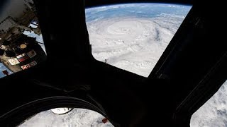 Hurricane Harvey As Seen From Space And On The Ground