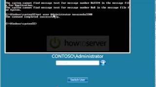 Resetar Senha administrador windows
