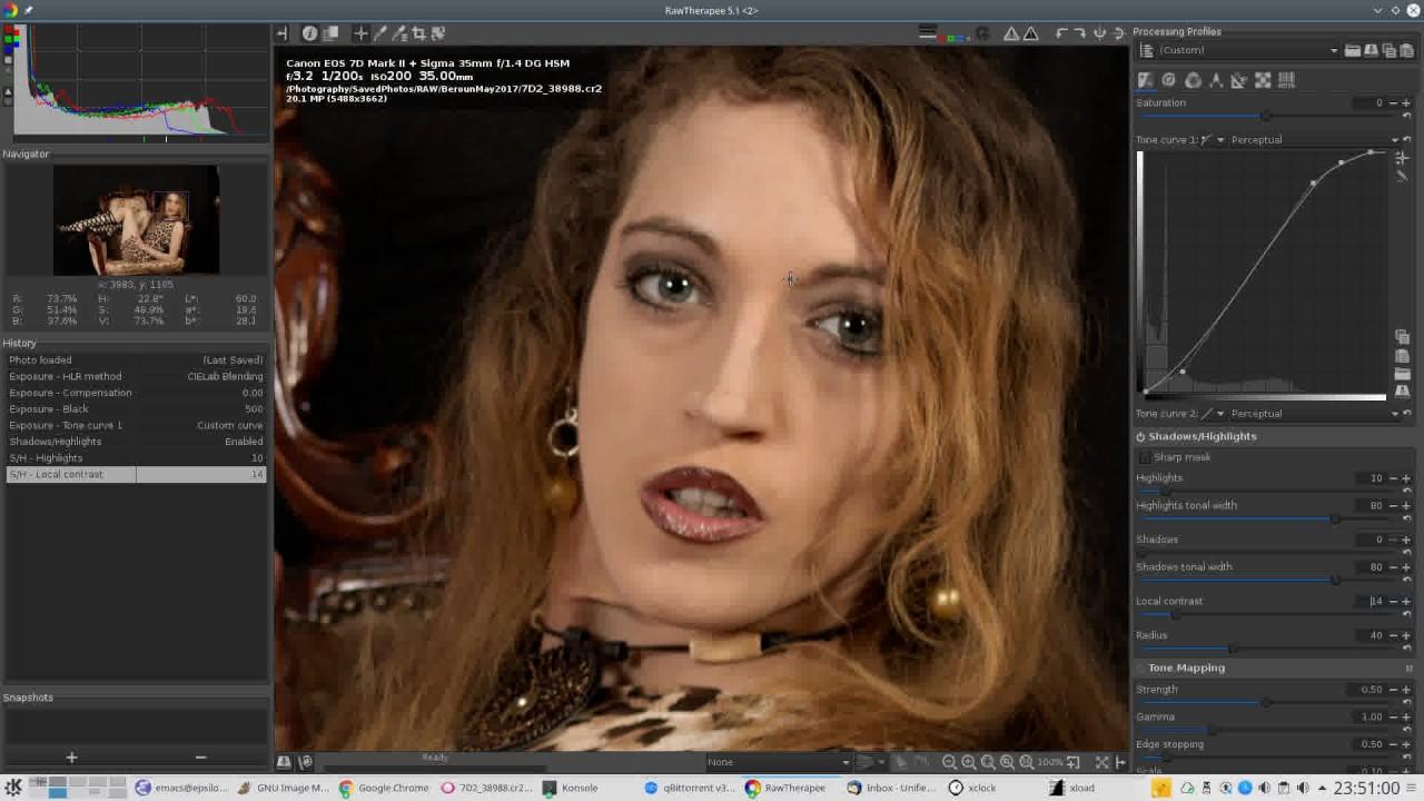 Portrait Workflow