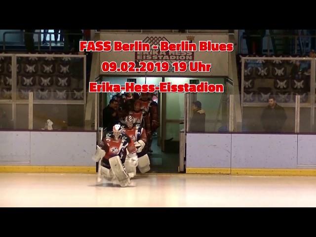 Heimspiel: FASS Berlin - Berlin Blues