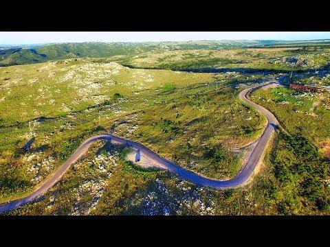 "Panoramic Road, ""Sierras de Minas"", Lavalleja  (4K)"