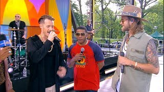 Catching up with Florida Georgia Line and Nelly live on 'GMA' thumbnail