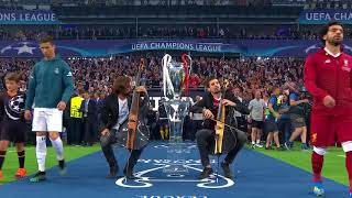 2CELLOS performance at the 2018 UEFA Champions League Final