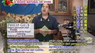 Gourmet Vegan Ricotta Ravioli With Basil Pine Nut Pesto By Chef Philip Gelb