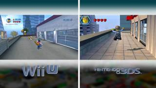 Visual Comparison - LEGO City Undercover Wii U & 3DS