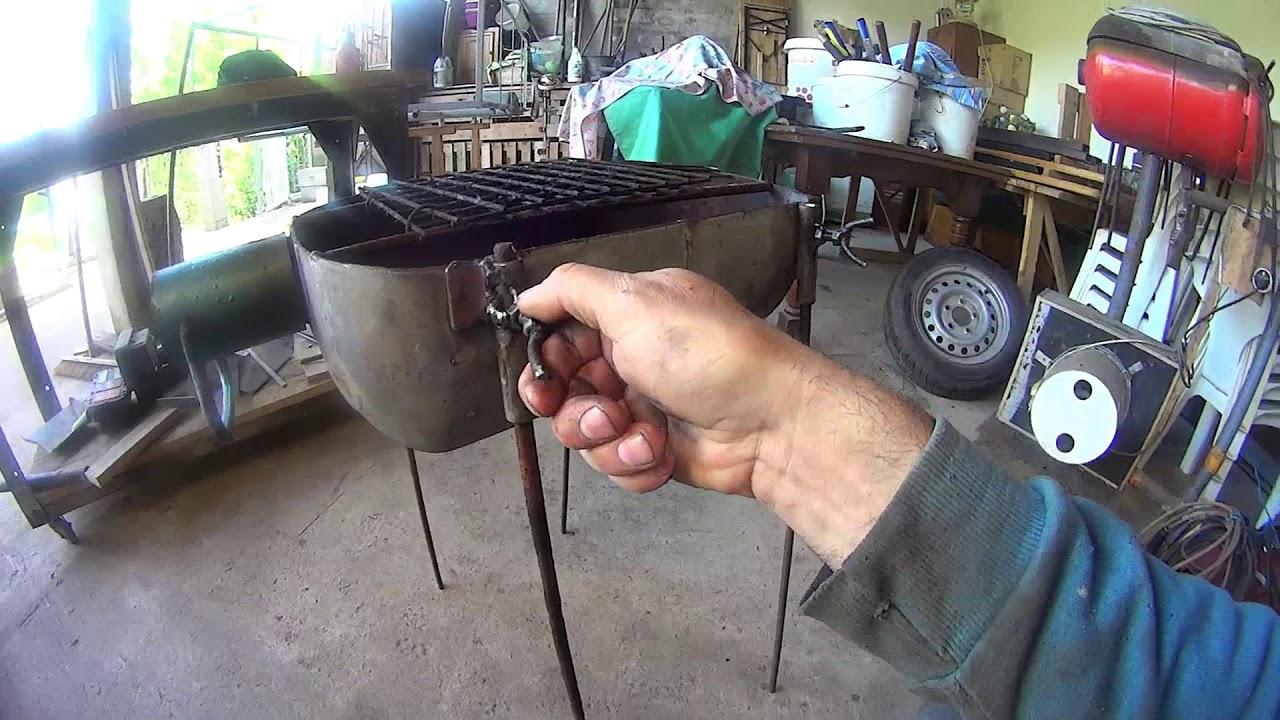barbecue fait a partir de une bouteille de gaz de 13kg. Black Bedroom Furniture Sets. Home Design Ideas