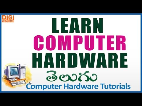 Learn Computer Hardware In Telugu || Computer Hardware Tutor