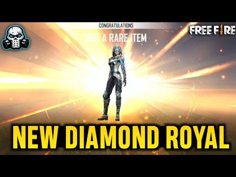 I'm So Lucky! 😍 NEW DIAMOND ROYAL FIRE / ICE - GARENA FREE FIRE 🔥