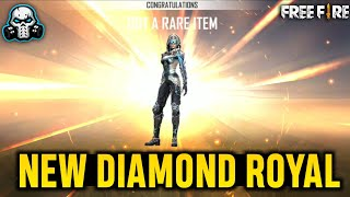 I'm So Lucky! 😍 NEW DIAMOND ROYAL FIRE / ICE - GARENA FREE FIRE 🔥