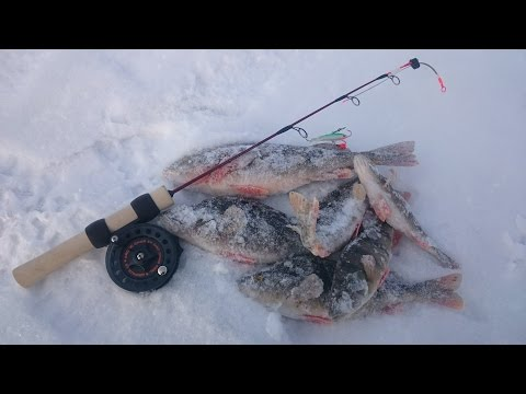 Ищем и ловим крупного окуня на балансир. Зимняя рыбалка.