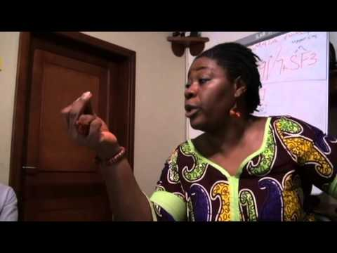 Liberia Media Training on Mining,oil and gas sector with Fatu Gbedemah