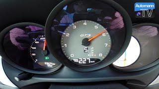 2016 Porsche Macan GTS (360hp) - 0-200 km/h acceleration (60FPS)