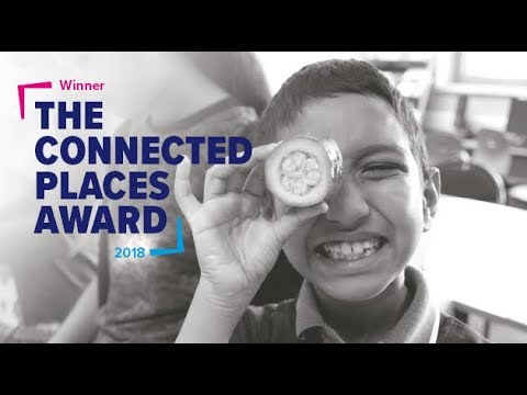 Morgan Stanley win the Connected Places Award