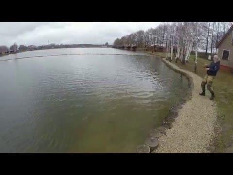 Первая рыбалка в Золотом Сазане