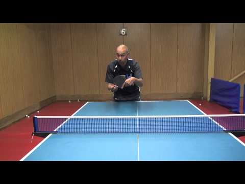 Returning a Heavy Backspin Serve | Table Tennis | PingSkills