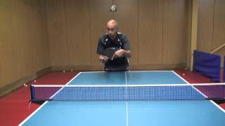 Table Tennis : Advanced Table Tennis Serving Tips