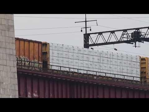 Hell's Gate Bridge - Freight Train