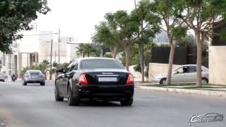 Maserati Quattroporte GT S  w/ Tubi decat exhaust | Exhaust sound | Revs and acceleration
