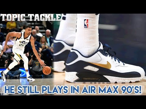 This NBA Player Still Plays in Nike Air Max 90's!