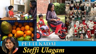 Alandra's Petti Kadai | Garden Fruits | Christmas Shopping Vlog in Tamil