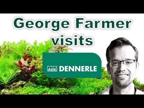 George Farmer visits Dennerle