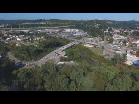 Phantom 3 Advanced: Flight over Scott Twp., PA Park and Heidelberg