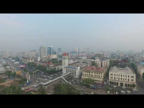 Yangon From Above