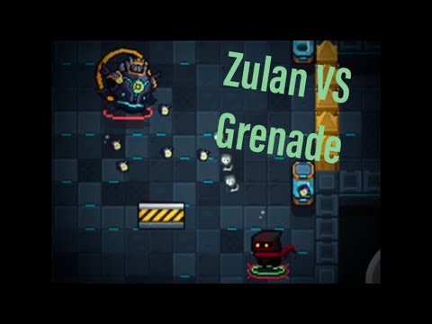 Beating Soul Knight With HAND GRENADE!!!