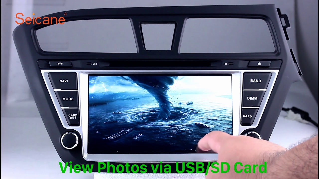 Aftermarket GPS 2014 2015 Hyundai i20 DVD Radio Navigation Stereo Upgrade  with HD TV Auto A/V