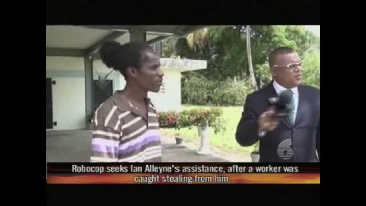 Ian Alleyne Crime Watch Robocop Amp The Wholesaler Youtube