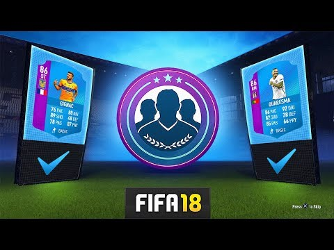 SBC QUARESMA & GIGNAC LEAGUE SBC! - FIFA 18 Ultimate Team