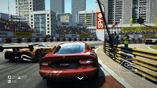 Grid Autosport PC [HD]: SRT Viper GTS gameplay in Chicago The Loop (Very Hard Difficulty)