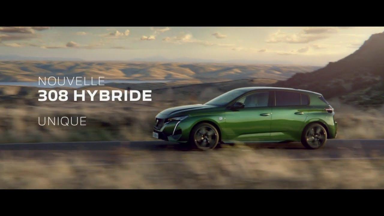 """Musique pub Nouvelle Peugeot 308 Hybride """"unique"""" Pub 45s 2021"""