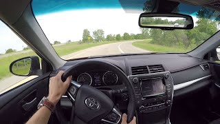 2015 Toyota Camry V6 XSE - WR TV POV Test Drive