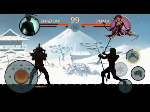 Shadow Fight 2-The Greatest Temptation : 6 Bosses
