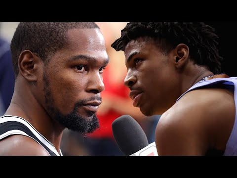 Kevin Durant Reacts To Ja Morant Involving Him In His Beef With Steph Curry