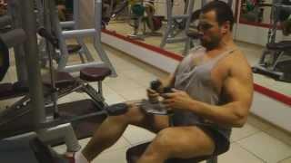 Упражнения для широчайших мышц спины (часть 2)(Программа тренировок от Тимура