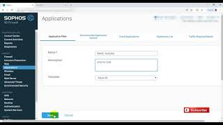 How to block YouTube on Sophos XG Firewall with Web Policy & Application Control