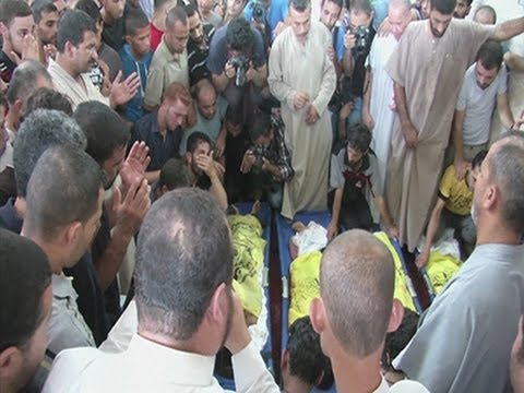 Raw: Airstrike Kills 4 Children on Gaza Beach