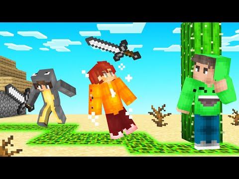 HUNTERS vs POISON TRAIL SPEEDRUNNER! (Minecraft)