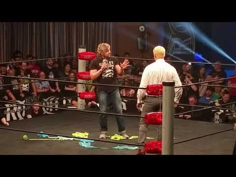 Bullet Club is DEAD!!!!! Kenny Omega Confronts Cody at Ring of Honor 16th Anniversary TV tapings.